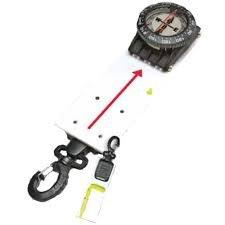 Compass Slate W/SS gate clip