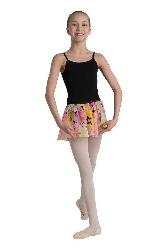 Pink & Yellow Flower Skirt Child