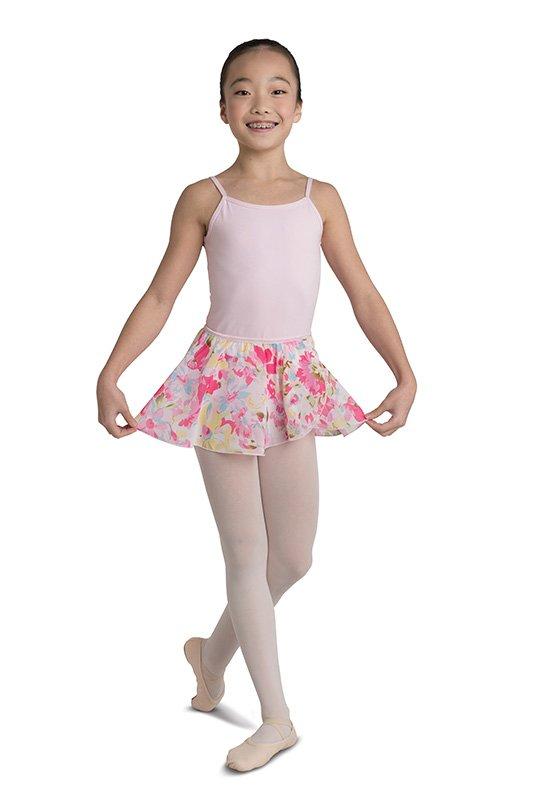 Pink Blue Flower Skirt Child