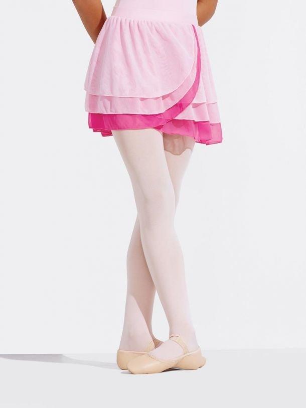 Kyla Pull On Multi Layer Chiffon Skirt
