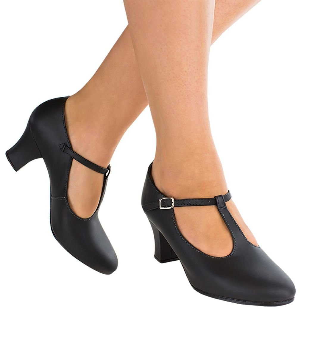 T-Strap Character Shoe CH40 2 Heel