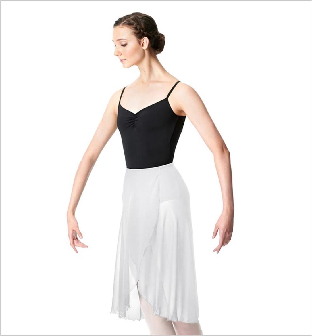 Wrap Chiffon Ballet Long Skirt Addison LUB249