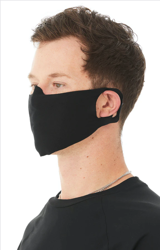 Single Layer Cloth Face Cover 5-Pack