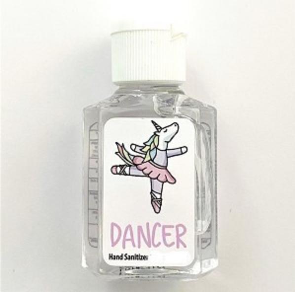 Miss Unicorn Ballerina 1oz. Hand Sanitizer