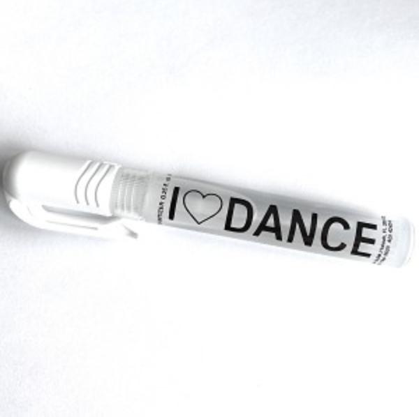 I LOVE DANCE 8 ml. Hand Sanitizer Spray