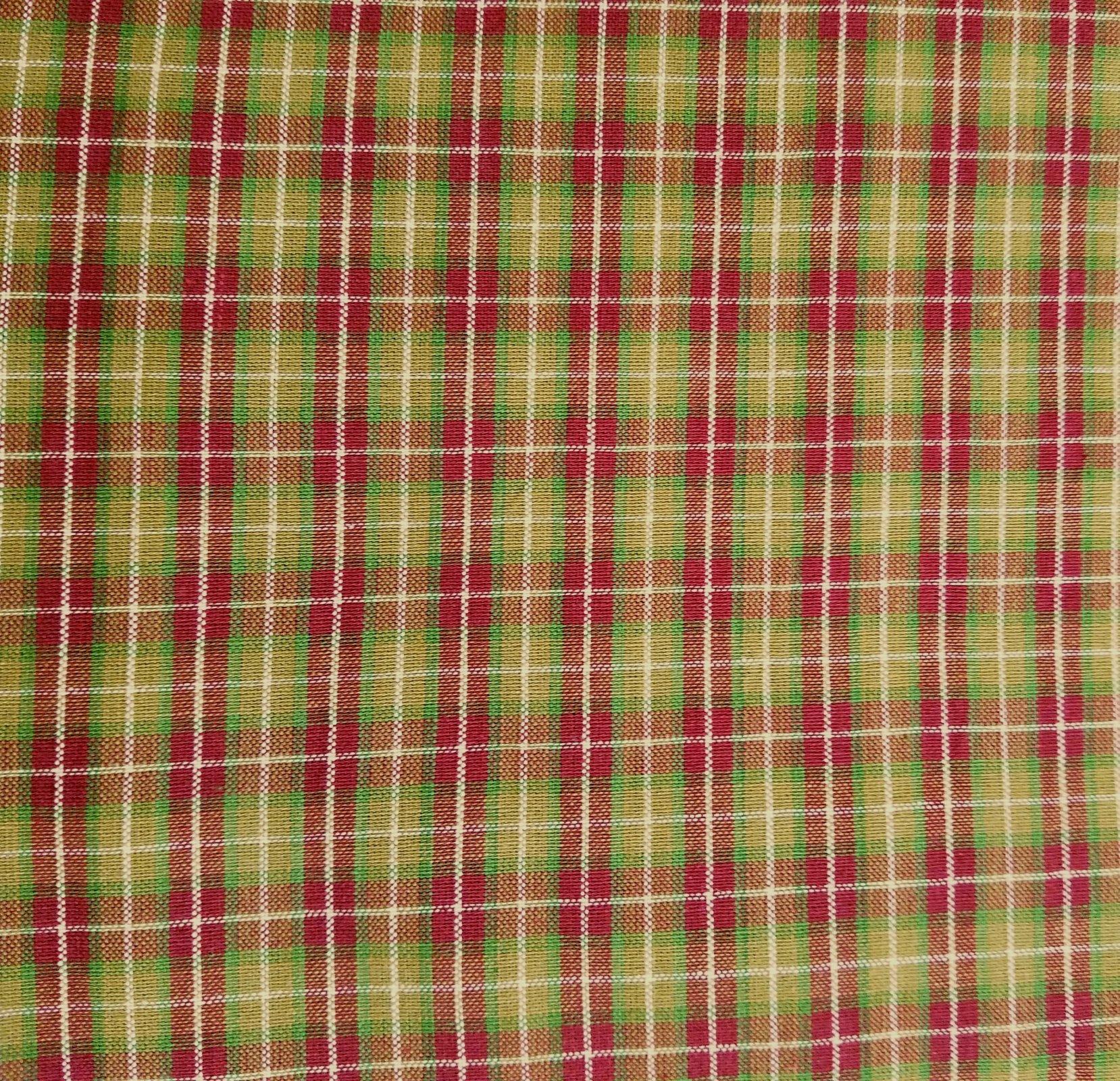 MDG Homespun - Red/Green Plaid