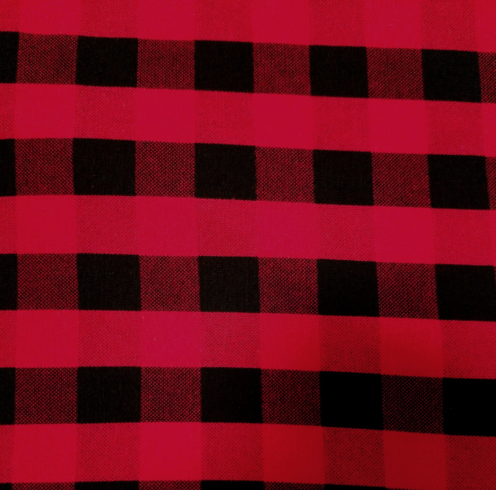 Checkerboard - Cotton/Spandex Knit