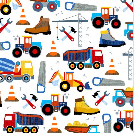 Work Zone - Construction Equipment
