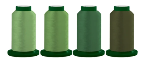 Classic Greens - Thread Quartet