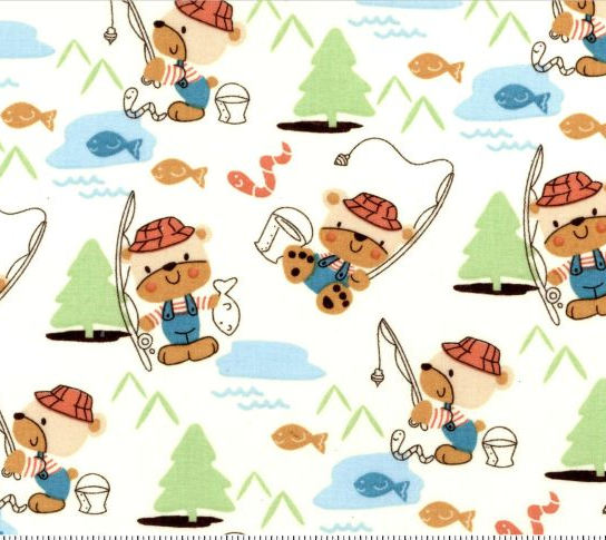 Kid's Time - Teddy Bear Fishing
