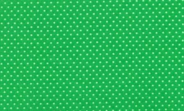 Mini Dots - Kelly Green