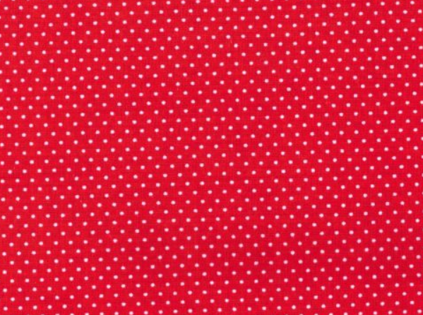 Mini Dots - Red