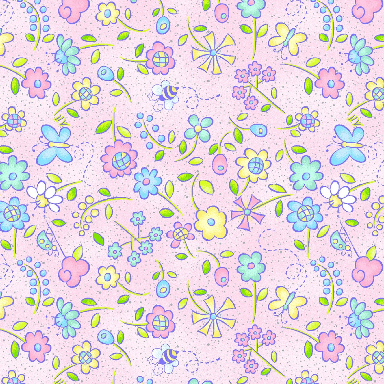 Best Friends - Tiny Floral - Pink