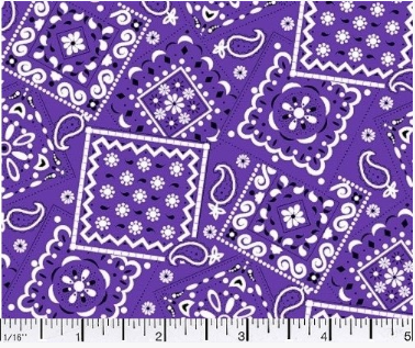 Blazin' Bandana - Purple