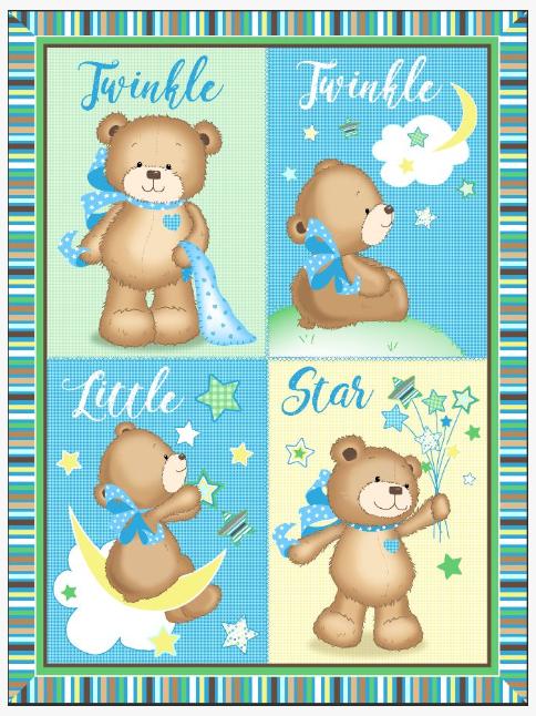 Twinkle Twinkle Baby Panel