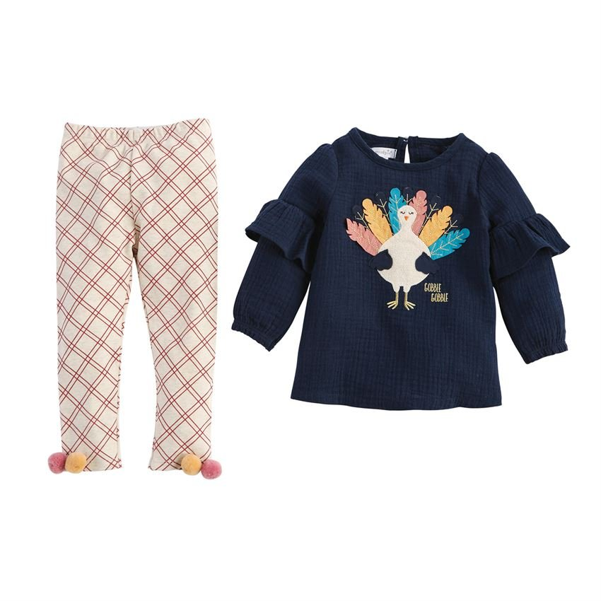 Toddler Turkey Tunic and Legging Set