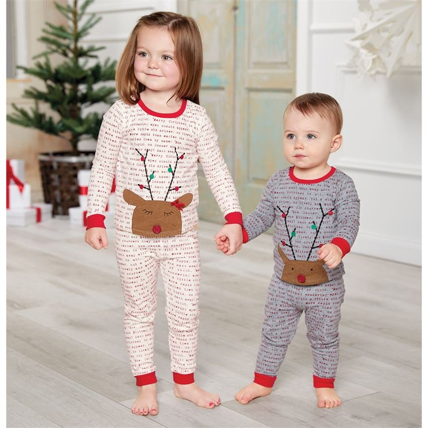 Rudolph Girl Pajamas