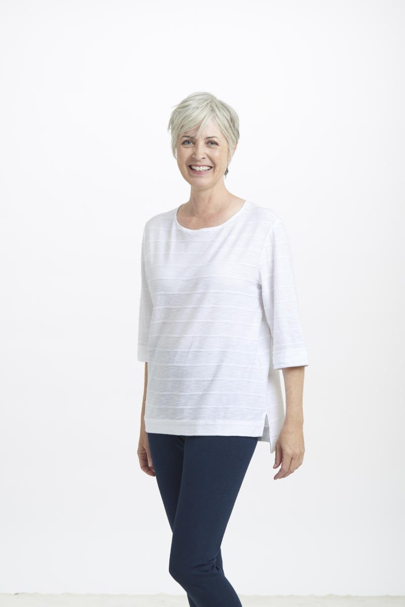 Boatneck Tuck Tunic