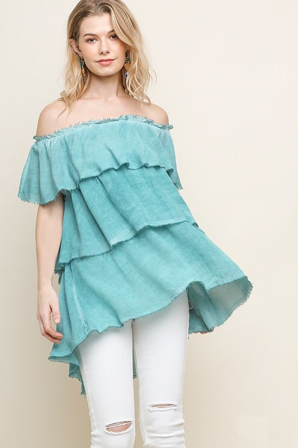 Layered Ruffle Top