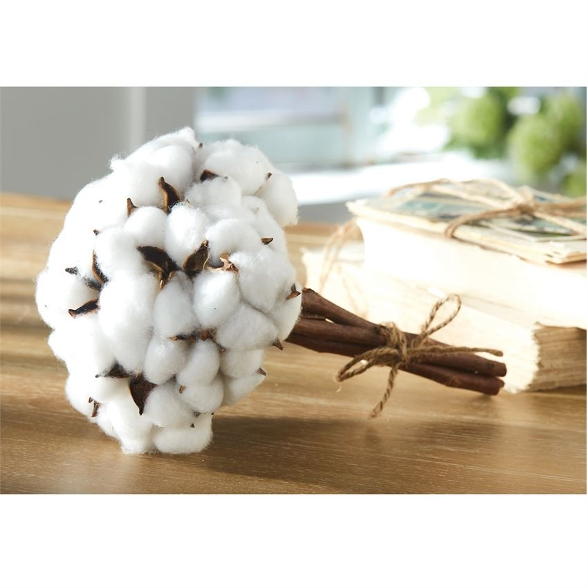 Natural Cotton Bouquet