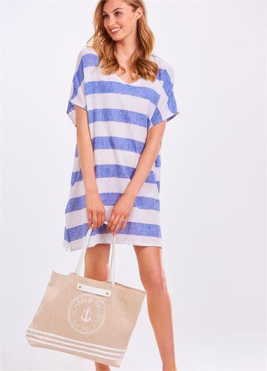 Linen Stripe Tunic