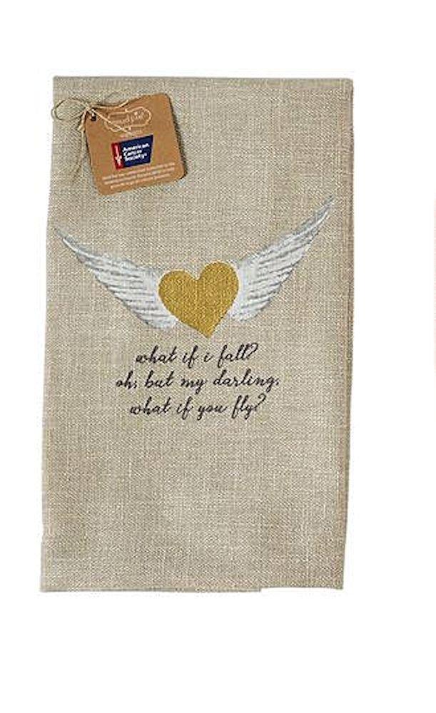 Angel Sentiment Towels