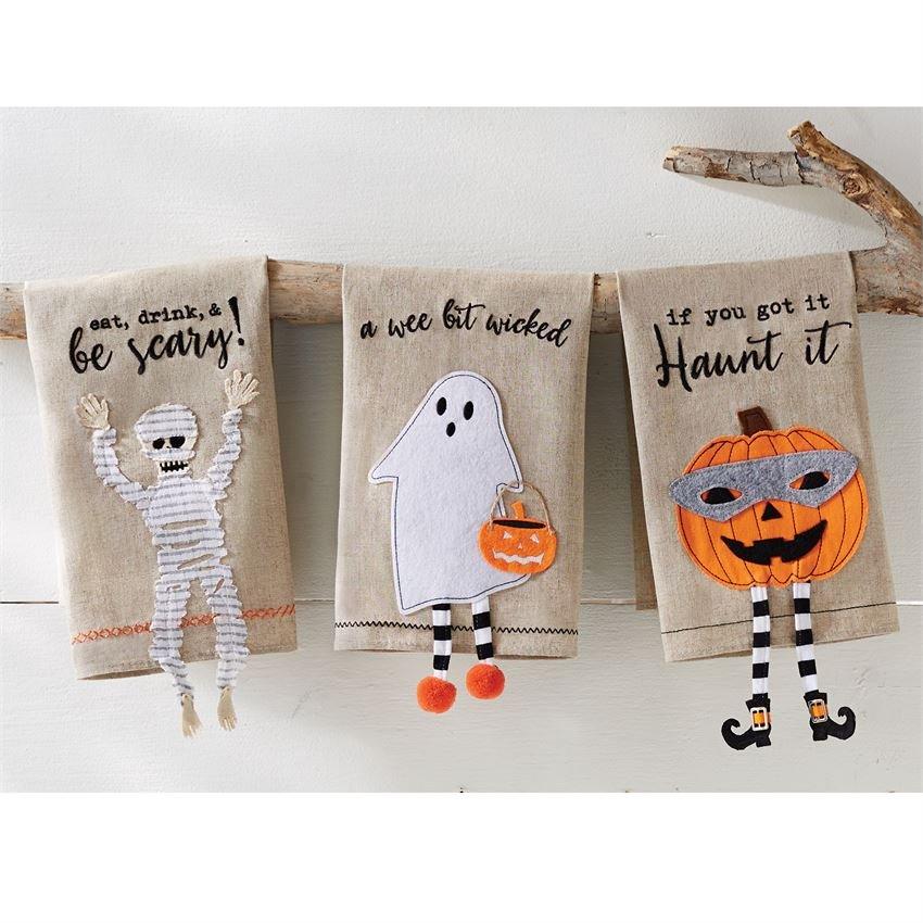 Halloween Dangle Leg Towels