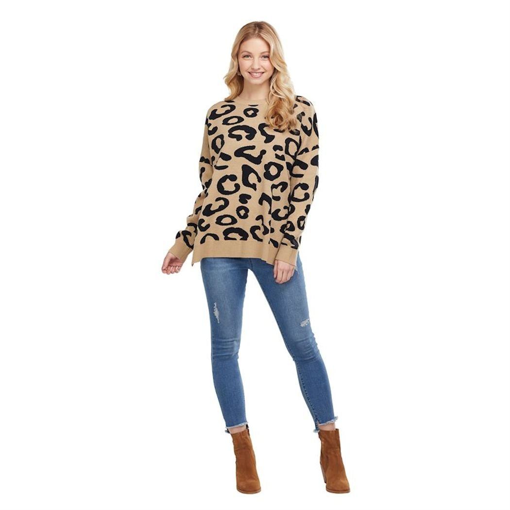 Leapard Sweater