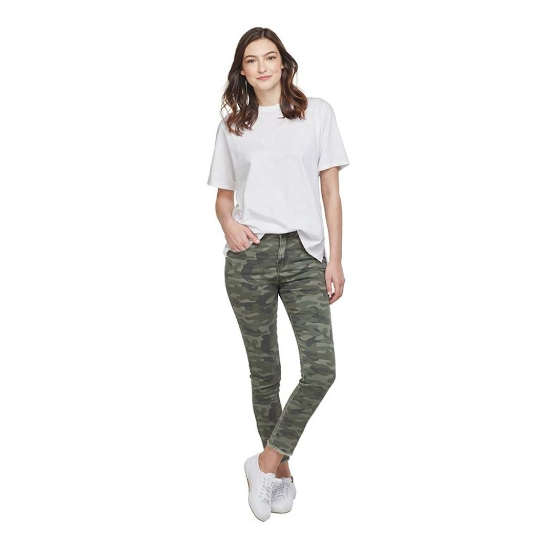Green Camo Jeans