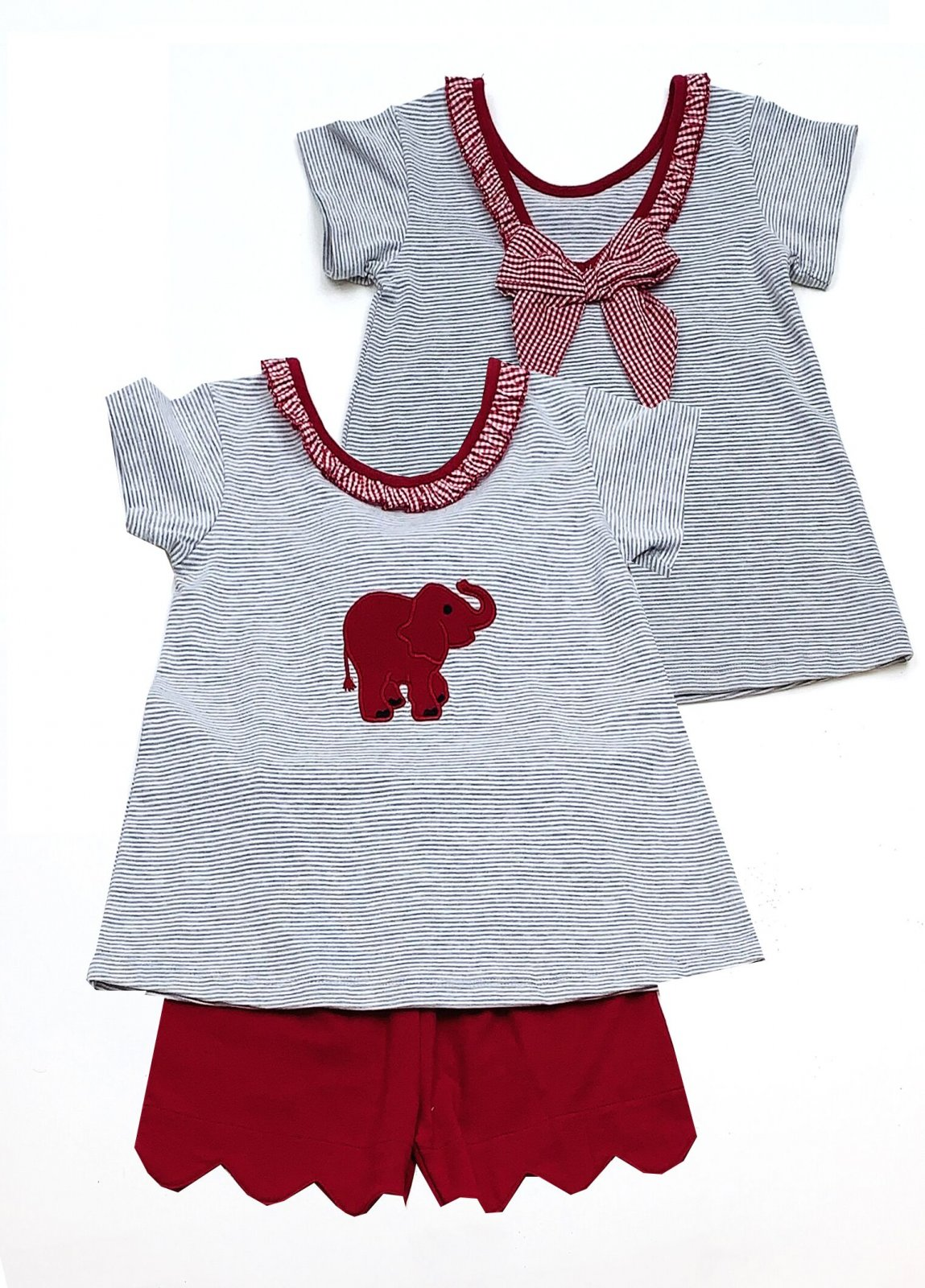 Elephant Short Set Toddler