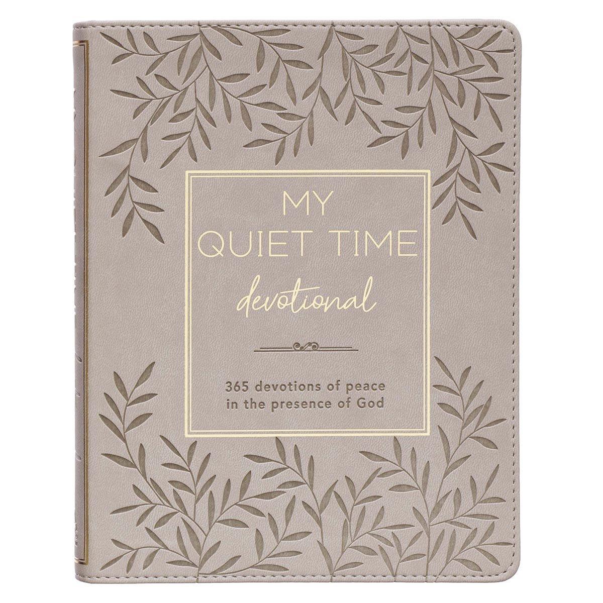 My Quiet Time Devotional Faux Leather Edition