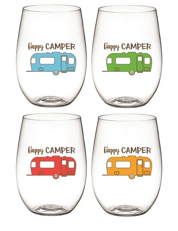 Camper Wine Glass Sett