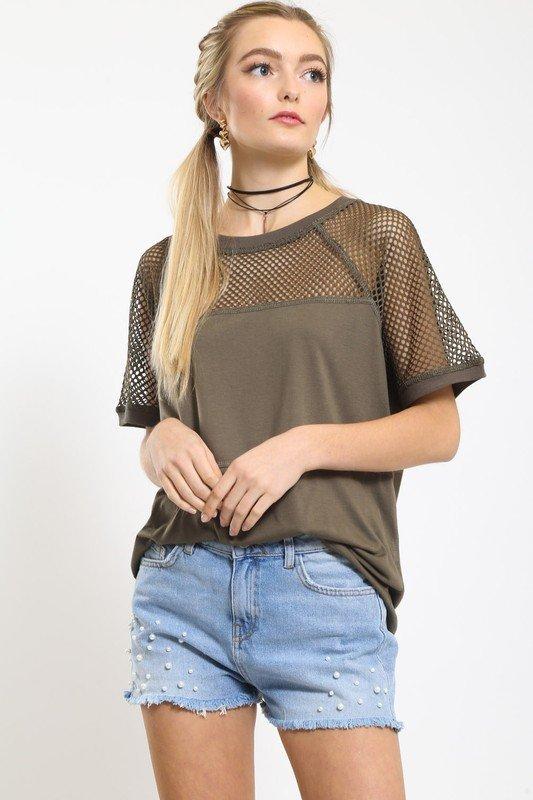 Olive Tee Shirt