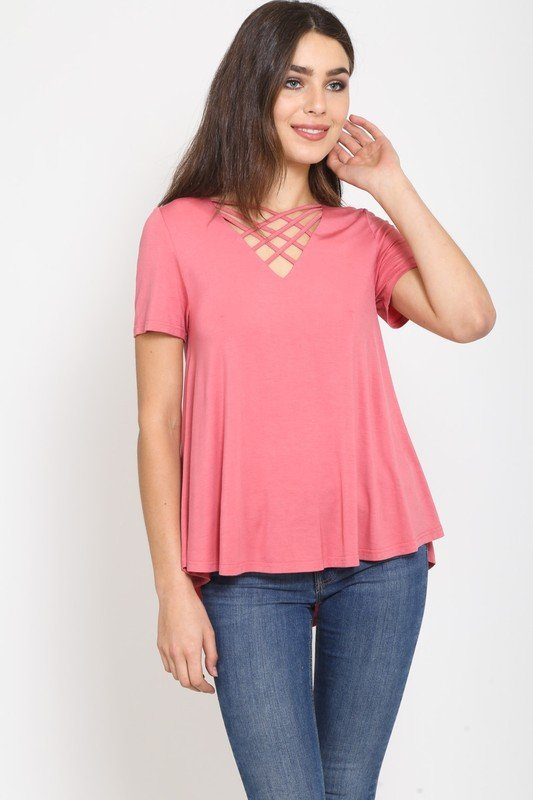 Lattice Front S/S Top