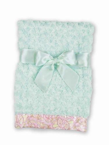 Swirly Paisley Snuggle Blanket