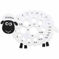 Hiya Sheep Needle Gauge