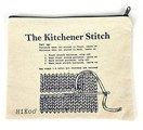 Canvas Zip Bag with Kitchener Stitch
