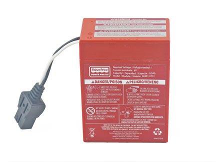 6V Red Battery