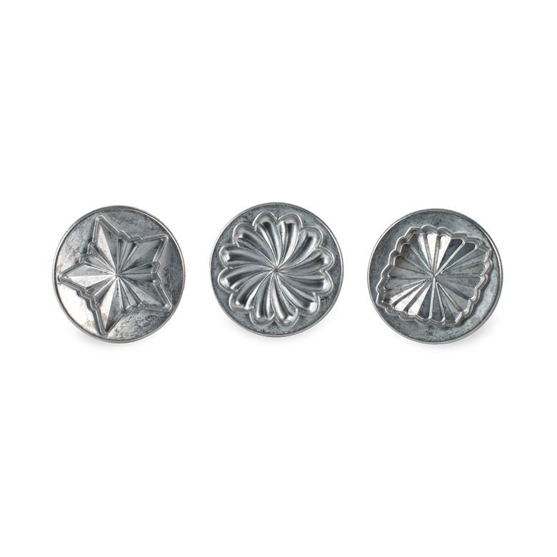Nordic Ware Pretty Pleated Cookie Stamp Set