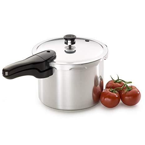 Presto Aluminum Pressure Cooker - 6 Quart
