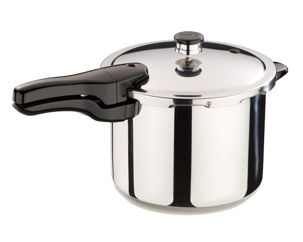 Presto Stainless Steel Pressure Cooker - 6 Quart