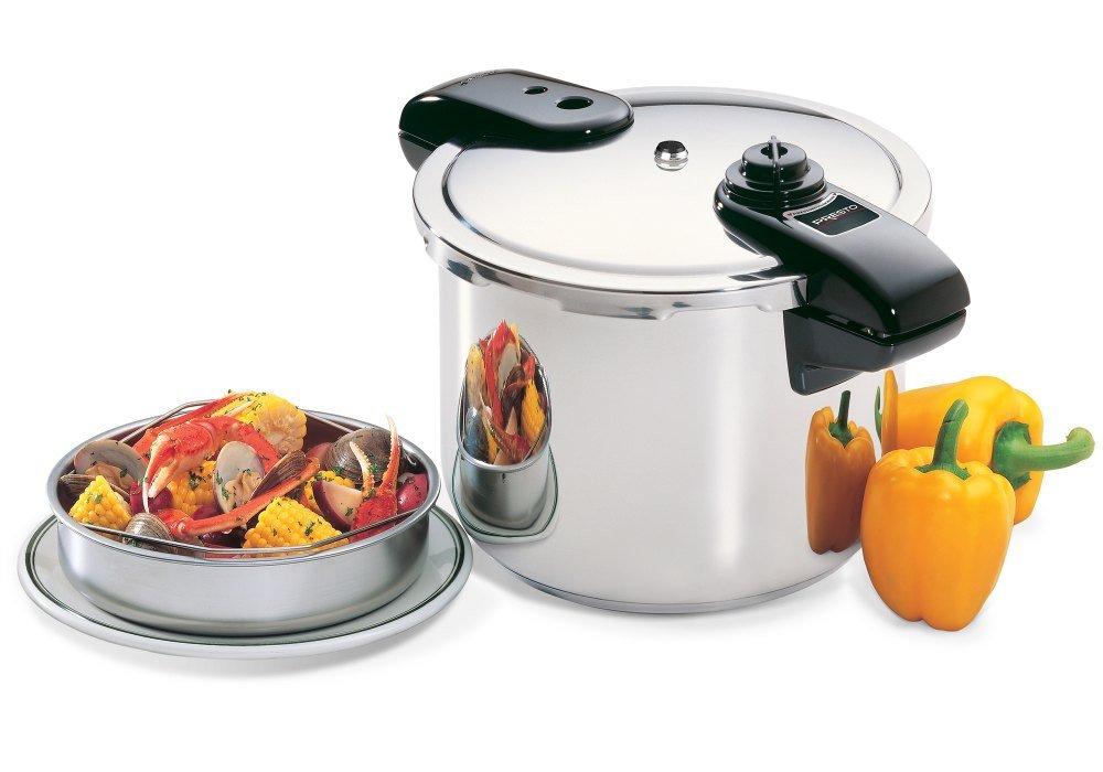 Presto Stainless Steel Pressure Cooker - 8 Quart