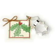 Cookie Cutter - Holly Leaf