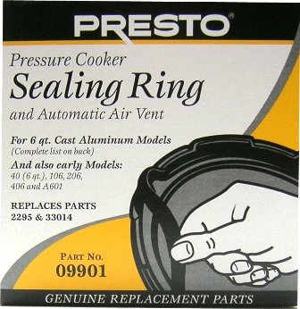 Presto Pressure Cooker Sealing Ring - For 6 Qts