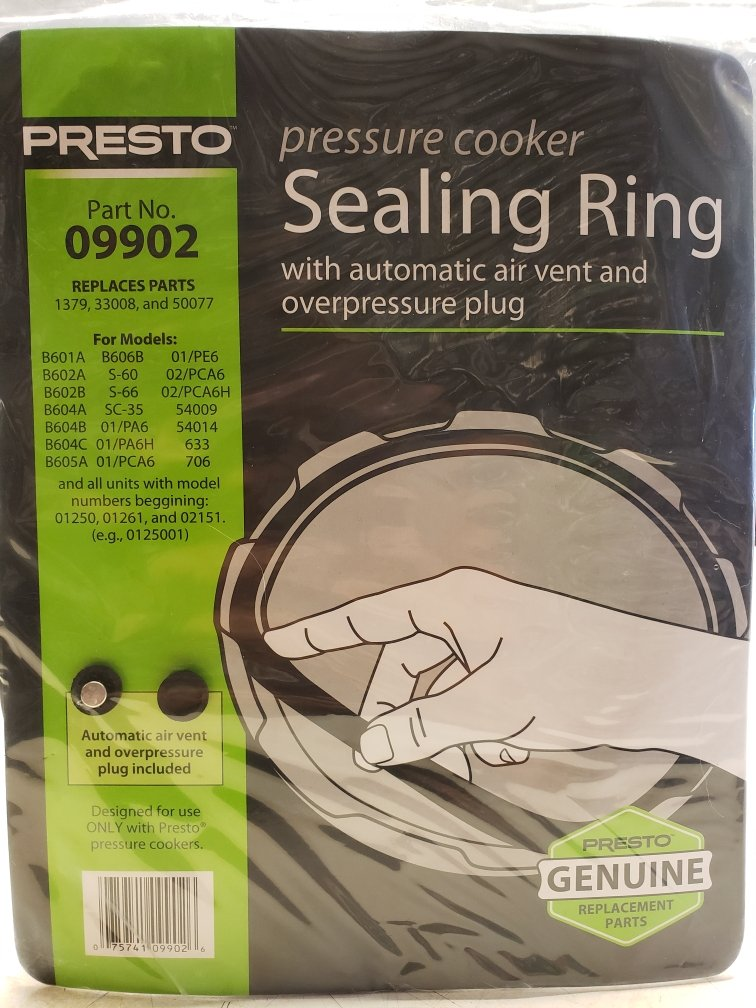 Presto Pressure Cooker Sealing Ring - For 4 & 6 Qts