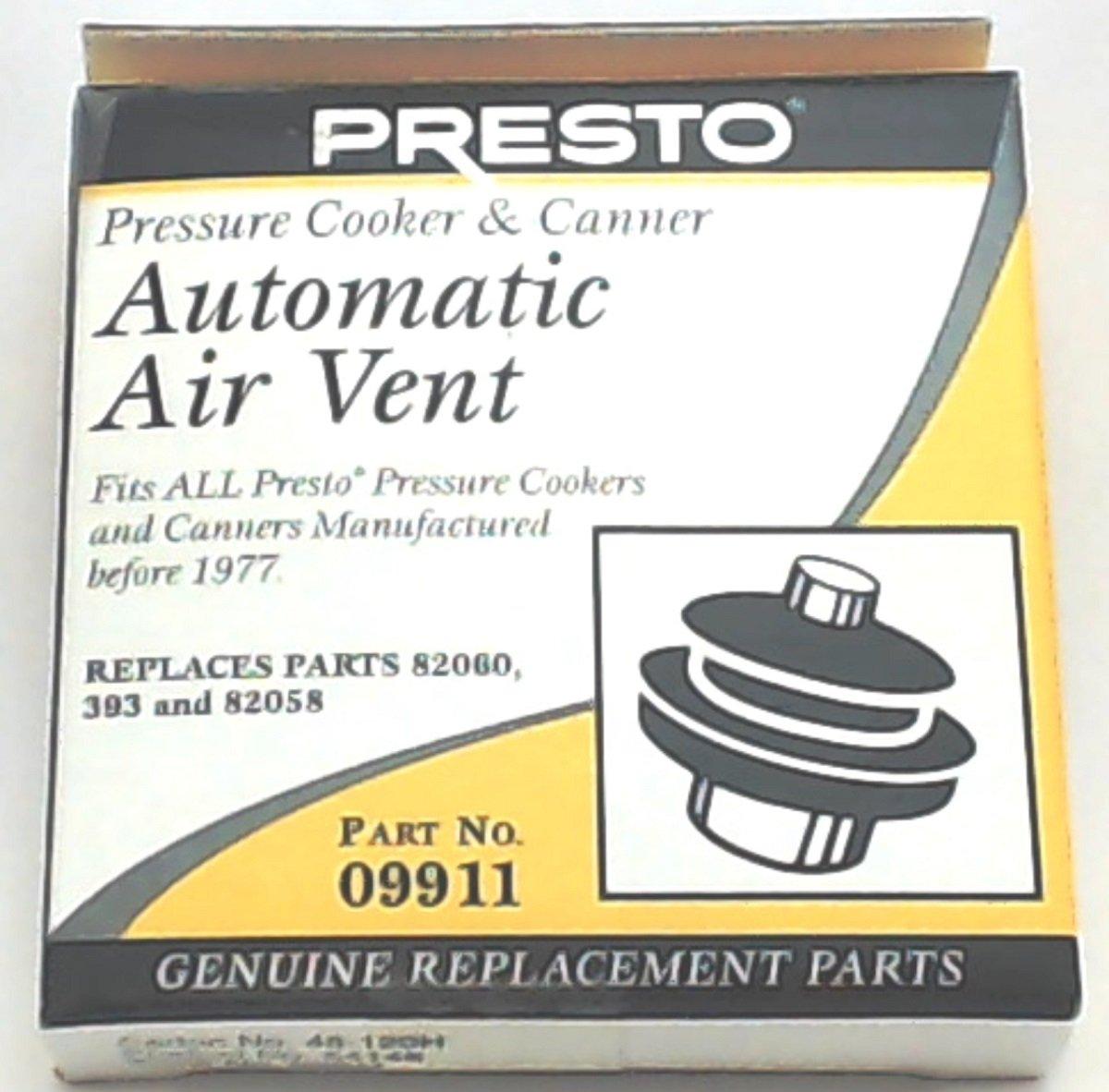 Presto Pressure Cooker/Pressure Canner Automatic Air Vent