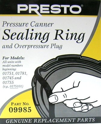 Presto Pressure Canner Sealing Ring - For 16, 18 & 23 Qts