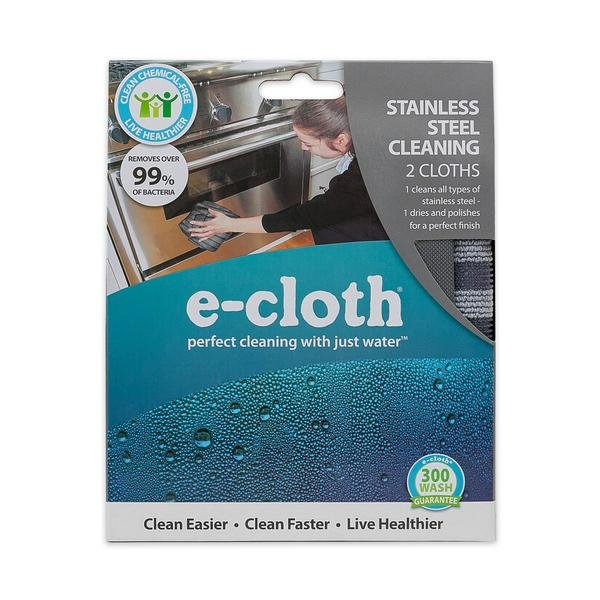 eCloth Stainless Steel Cleaning - 2pk