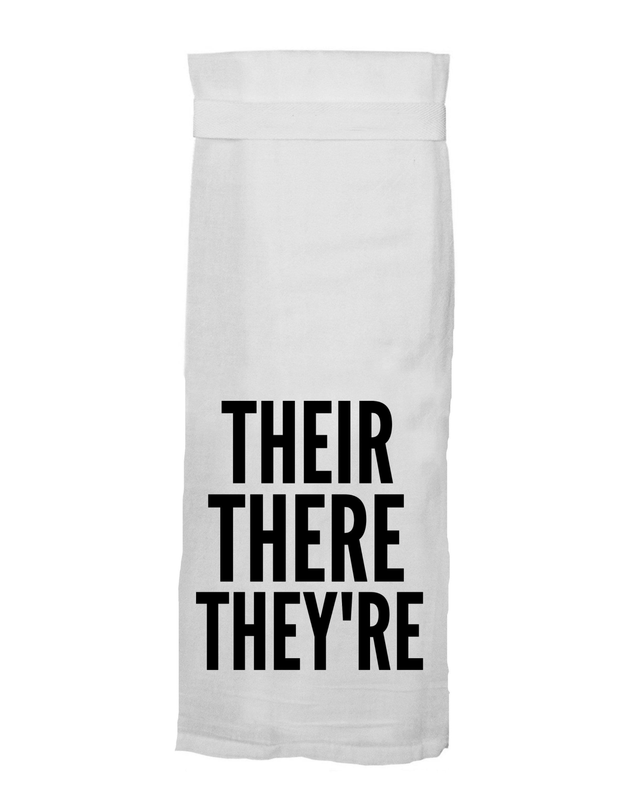Flour Sack Towel - Their There They're