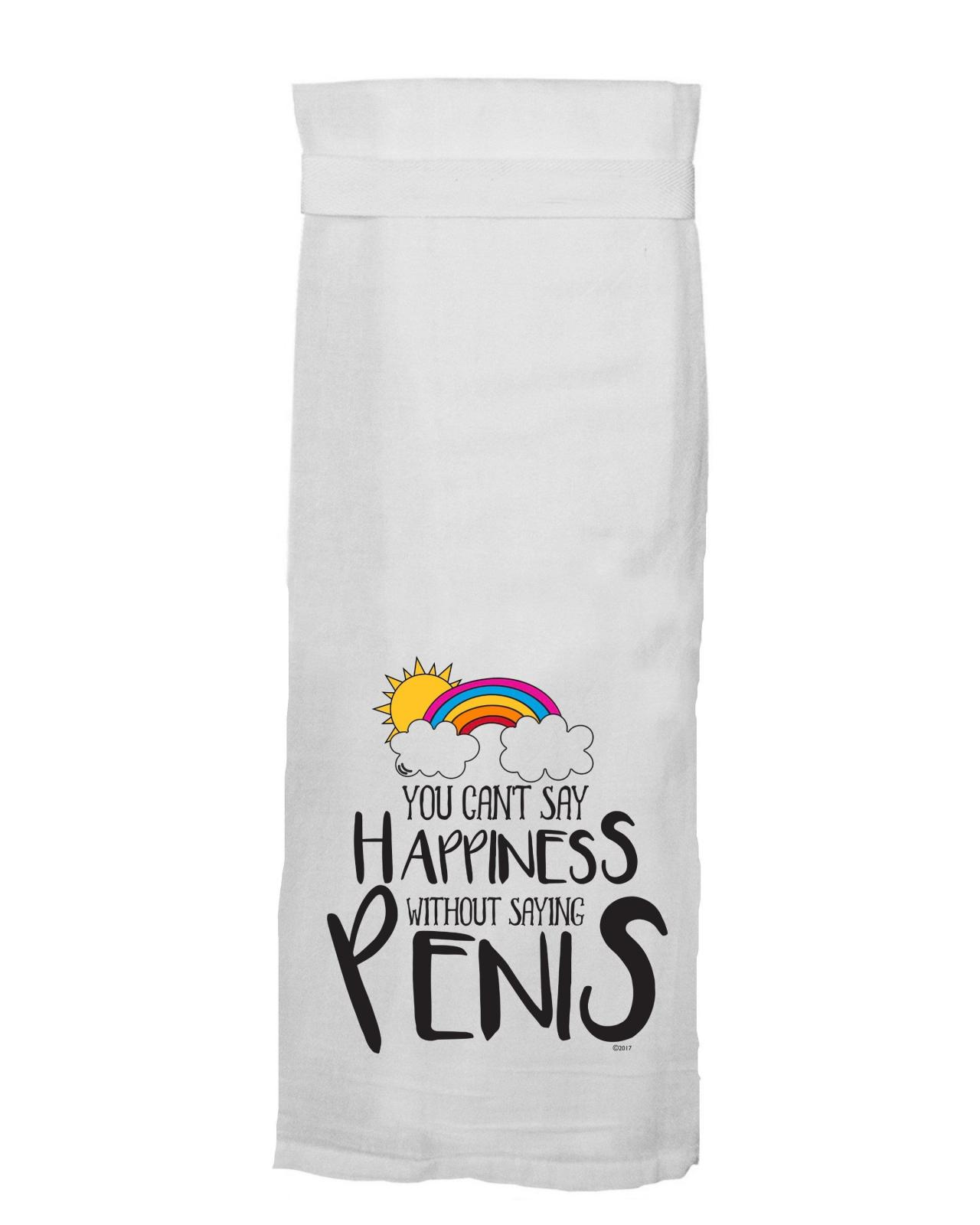 Flour Sack Towel - You Can't Say